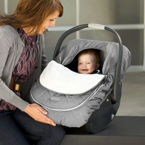 JJ Cole Car Seat Cover in Gray - Winter Must Have